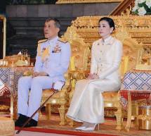 Le nouveau roi thaïlandais Maha Vajiralongkorn a été couronné officiellement, avec une audience publique