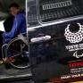 Le Japon Taxi de Toyota est devenu un symbole olympique coûteux