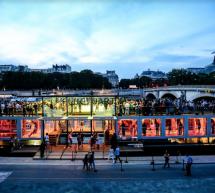 Paris ouvre son premier musée d'art flottant