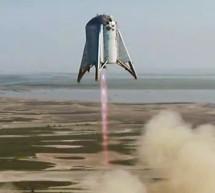 Le prototype Starhopper de SpaceX a volé cette semaine à sa plus haute altitude à ce jour